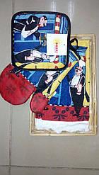 Кухонный набор 3 пр.Повар в корзинке