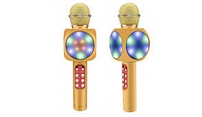 Беспроводной караоке микрофон WS 1816 Жёлтый, фото 2
