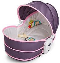 Детская люлька Rocker Bassinet 5 в 1 B5 Розовый, фото 3