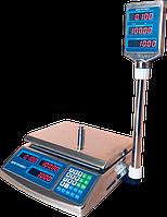 Весы торговые Днепровес ВТД-ЕЛС до 30 кг, фото 1