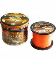 Леска Energofish Carp Expert UV Fluo Yellow/ Orange 1000 м