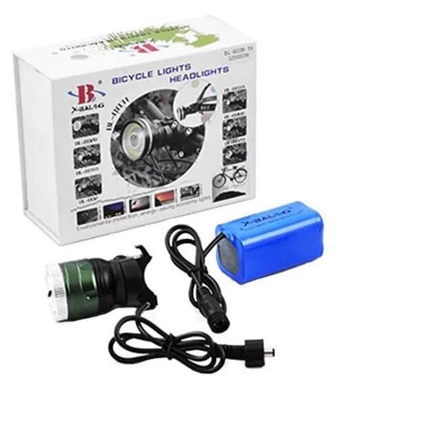 Ліхтарик для велосипеда акумуляторний BL-B02