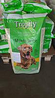 Полноценный сухой корм для взрослых собак Трофи с говядиной и рисом Испания мешок 20 кг