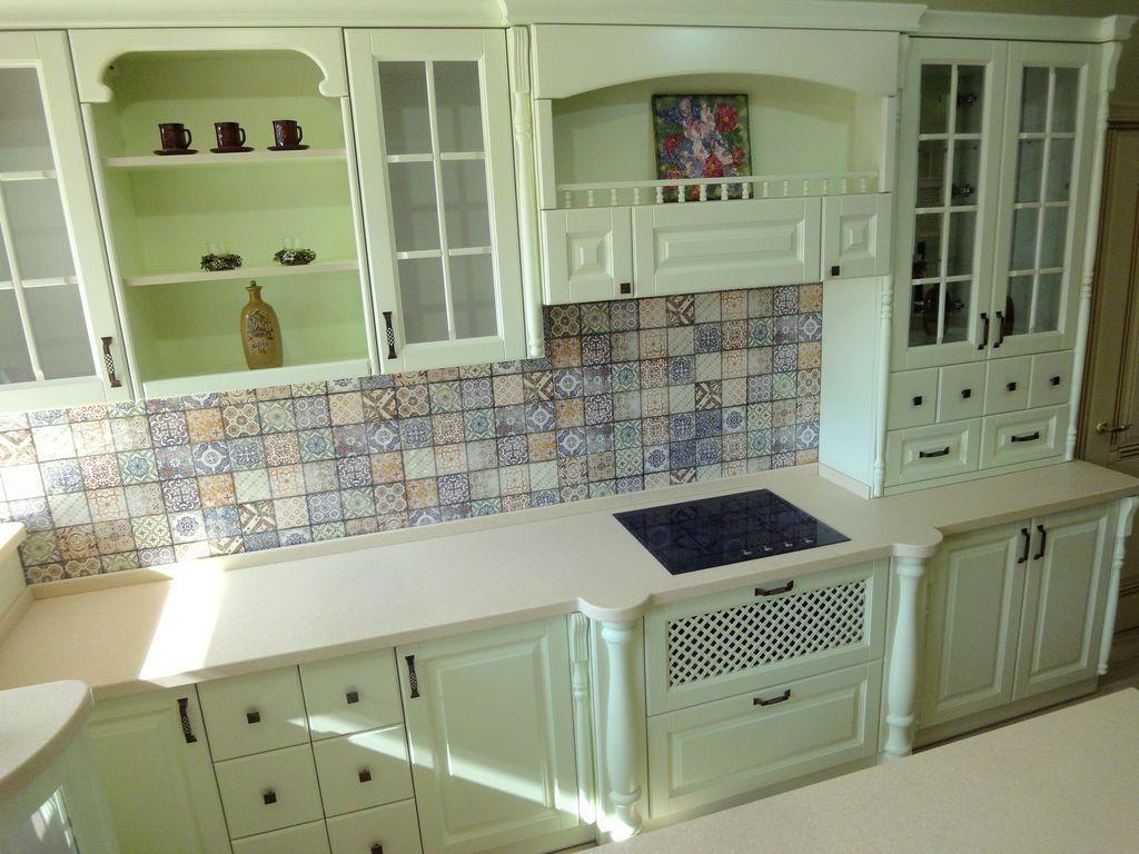 """Кухні в стилі """"Прованс"""" з фасадами з МДФ"""