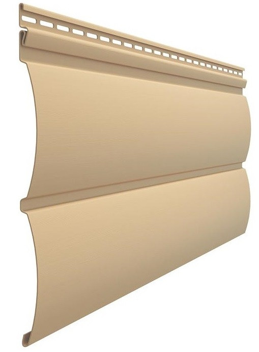 Сайдинг Docke Premium Блок Хаус (карамель)
