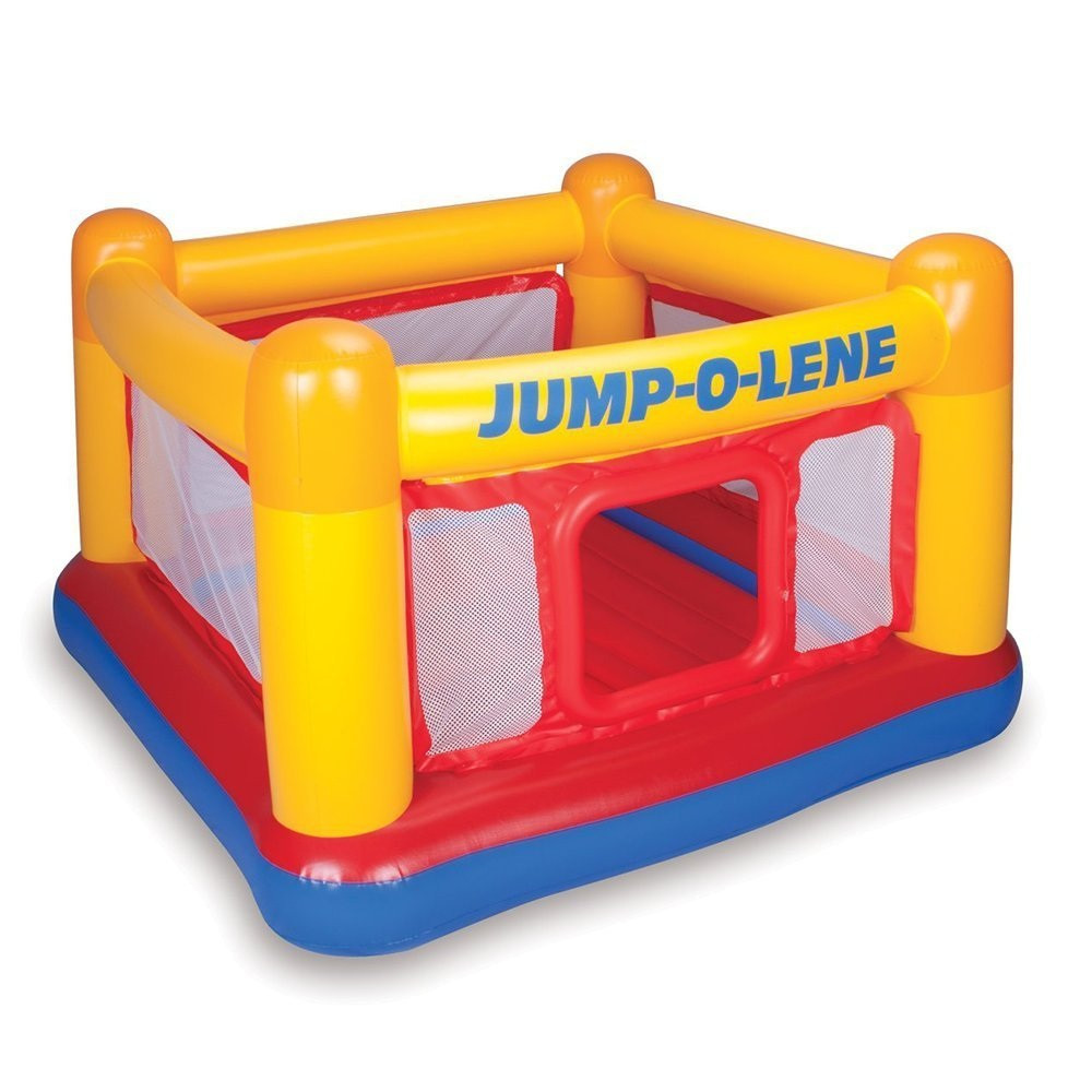 Надувной детский игровой батут Intex 48260 «Jump-O-Lene»