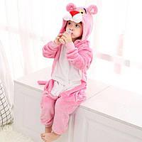 Кигуруми детский Розовая Пантера (Размер:120см ,130см, 140см)