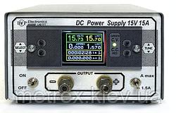 Лабораторний джерело живлення LAB TFT 15V 15A BVP Electronics
