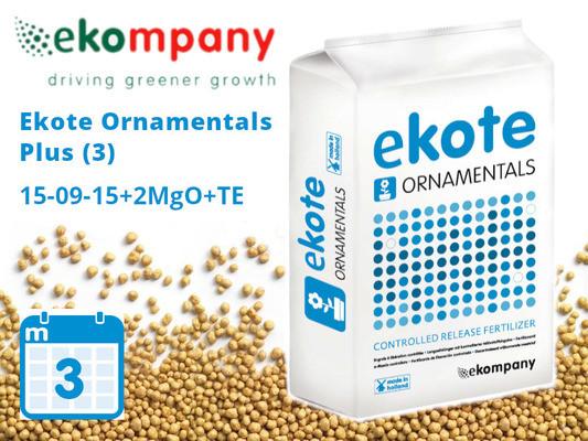 Добриво Ekote Ornamentals Plus (3 місяці) 3101FO, 25kg