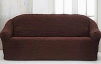 Чехол на диван Altinkoza Темно-коричневый (hub_IPKm37831)