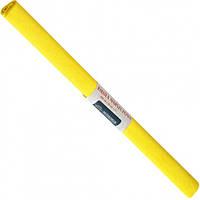 Бумага креповая, рулонная, 200х50 см, цвет лимонный