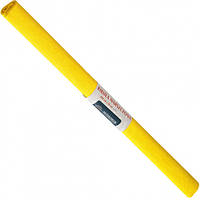 Бумага креповая, рулонная, 200х50 см, цвет желтый