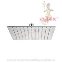 Потолочная лейка тропического душа из нержавеющей стали ZERIX LR70015-200 Квадрат