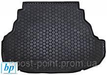 Коврик багажника (корыто)-резиновый, черный Toyota Camry xv55 (Тойота Камри 55 кузов 2014г-2018г)