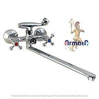 Смеситель для ванны с душем ARMATA 140 EURO