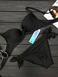 """Купальник раздельный """"Atlantic с плавками на завязках ,6цв, Р-р.36(42),38(44),40(46) Код 7064К, фото 8"""