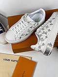 Кеди, кросівки Луї Вітон шкіряна репліка, фото 3