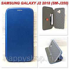 Чехол-книжка G-Case для Samsung Galaxy J2 2018 (J250) Синий