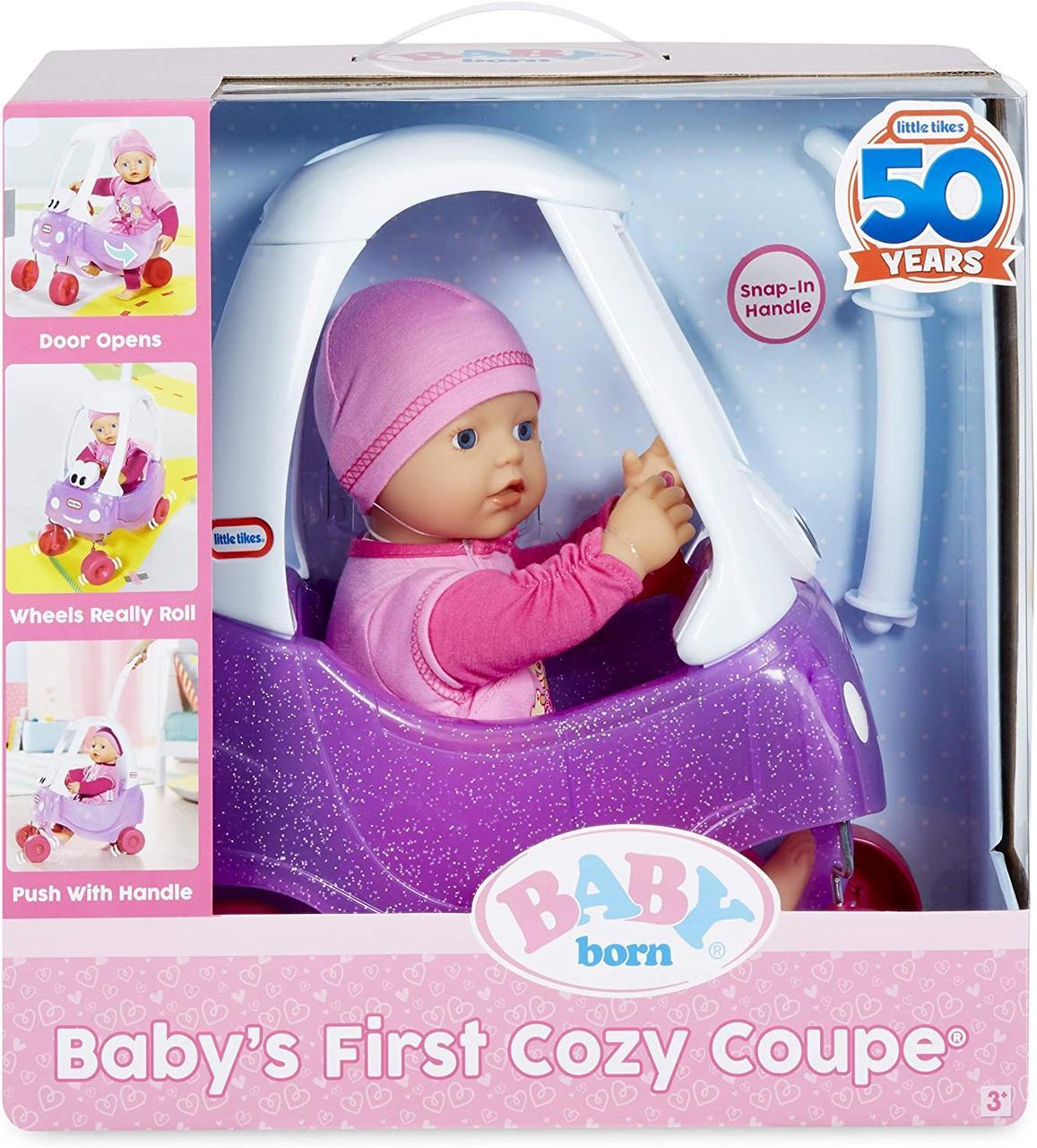 Беби Борн Перша затишна машина Baby Born baby's First Cozy Coupe