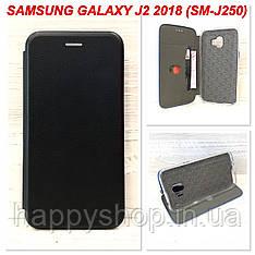 Чехол-книжка G-Case для Samsung Galaxy J2 2018 (J250) Черный