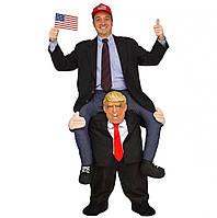 Надувной костюм Дональда Трампа Resteq 160~190 см Черный (1025774451)