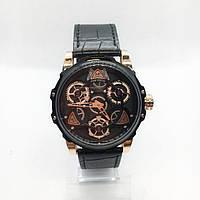 Часы мужские кварцевые MINI FOCUS MF0249G, цвет черный с золотом ( код: IBW316BY )