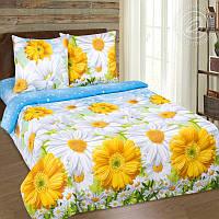 комплект постельного белья Ромашковое поле  разные размеры