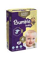Подгузник Bumble baby Памперс 4 размер - 60 штуки