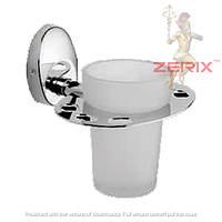 Стакан для зубных щеток ZERIX LR3306-1