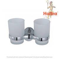 Стакан для зубных щеток двойной HAIBA HB1608
