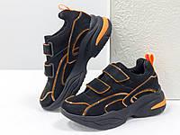 Яркие неоновые кроссовки на липучках-натуральная кожа,унисекс 36-41 Супер Качество!