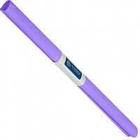 Бумага креповая, рулонная, 200х50 см, цвет светло фиолетовый