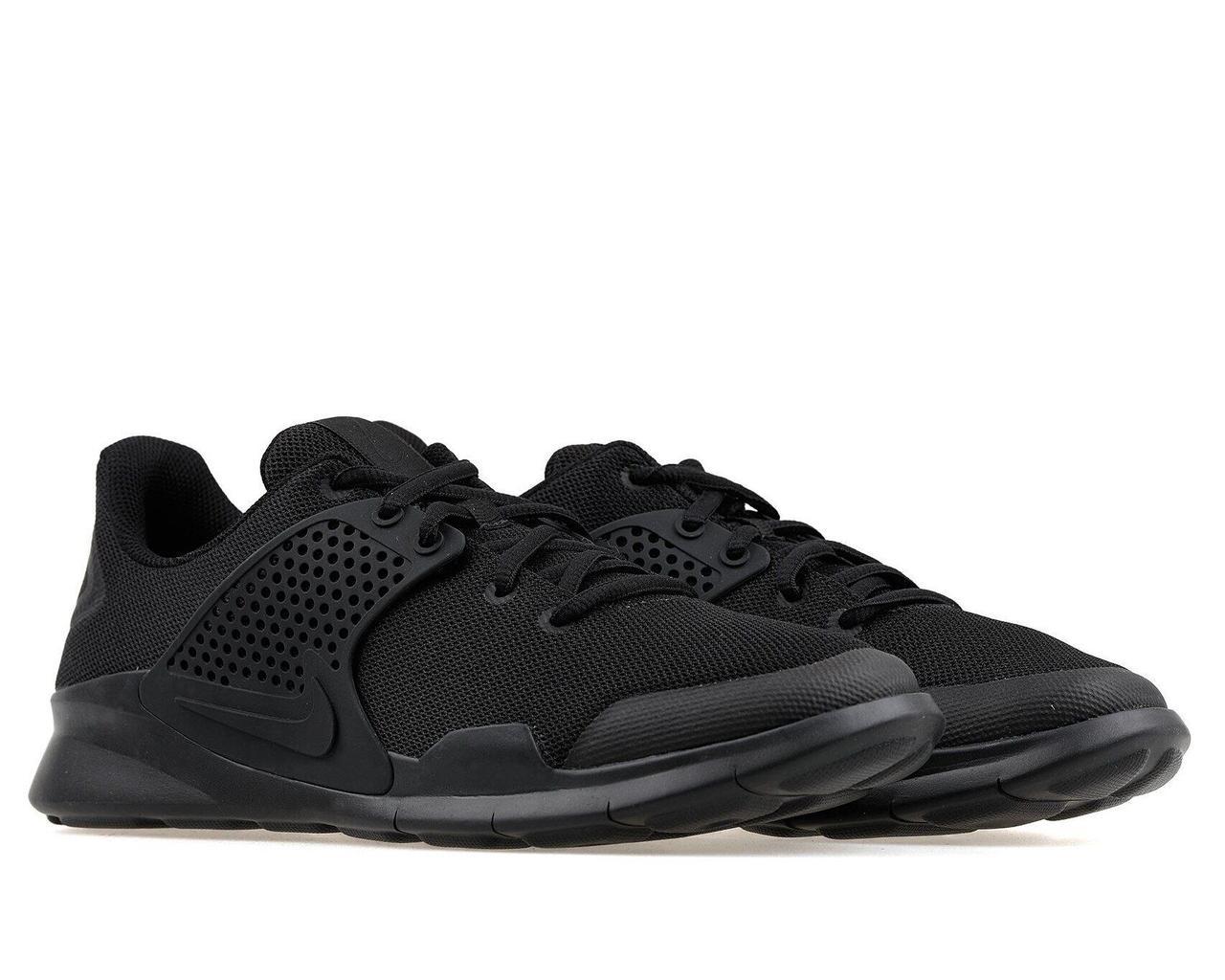 Nike Arrowz оригінальні чорні кросівки з дихаючим верхи чоловіче взуття великих розмірів 902813-003