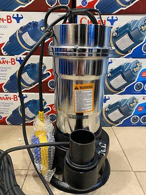 Насос фекальный Delta WQS 2 - 2.5 кВт нержавейка, фото 2