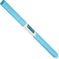 Бумага креповая, рулонная, 200х50 см, цвет светло-голубой