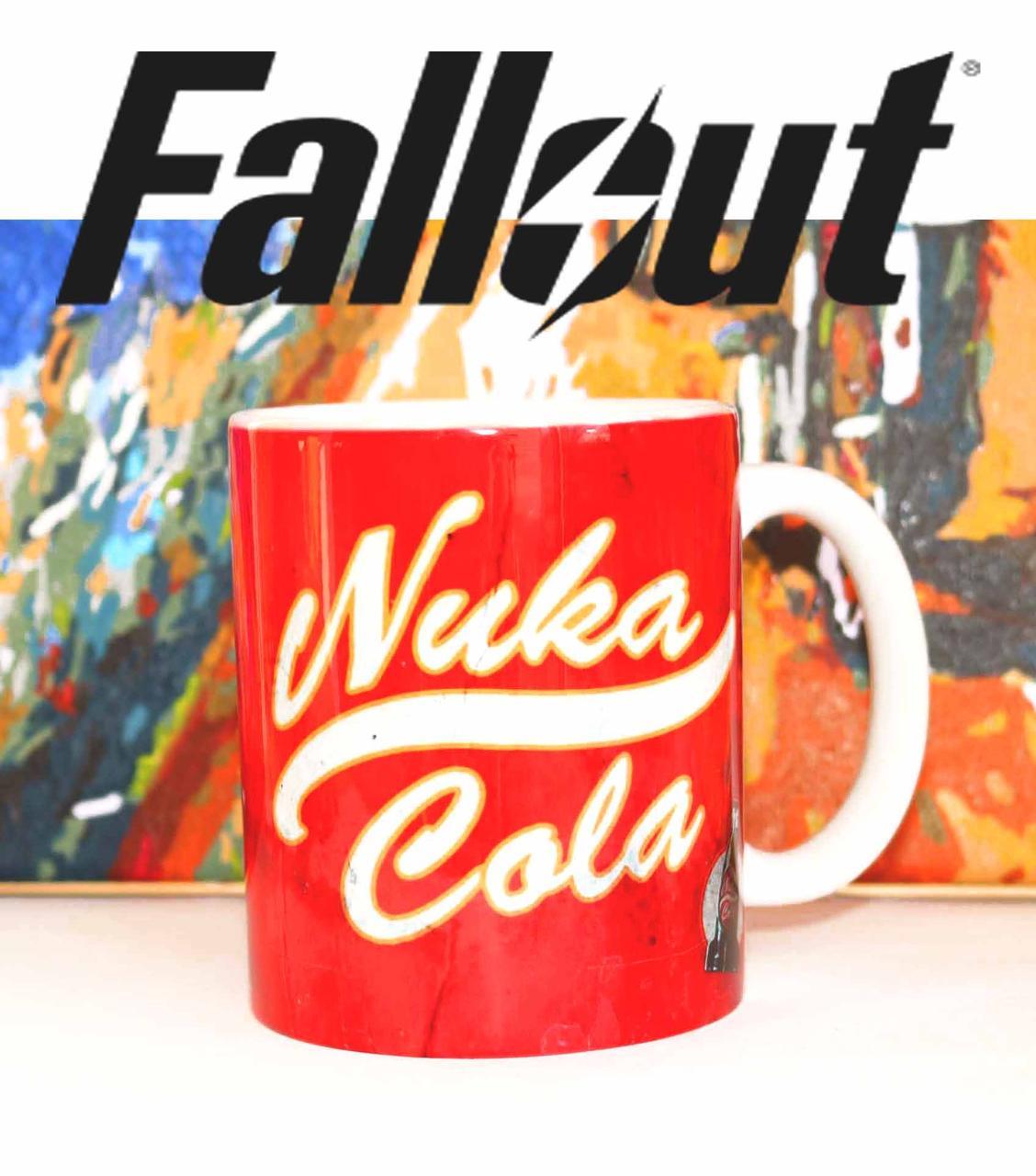 Чашка Girl Nuka Cola Фаллаут / Fallout