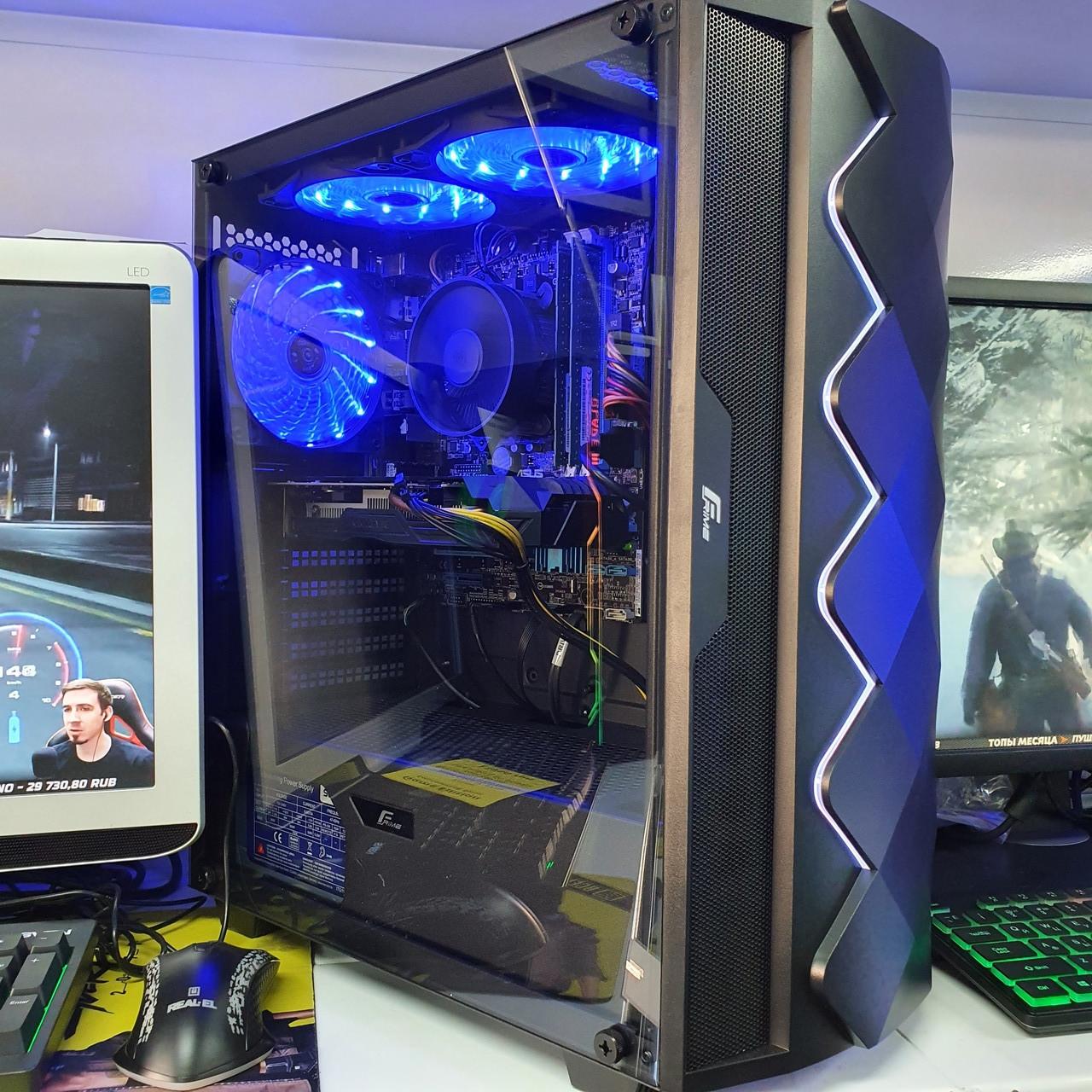 Системный блок Game Edition Frime(Intel Core i7-37708x3.90Ghz/8Gb DDR3/SSD 240Gb/GTX 1060 6 Gb GDDR5))