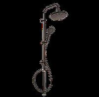 Душевой набор с верхним душем Invena BLACK