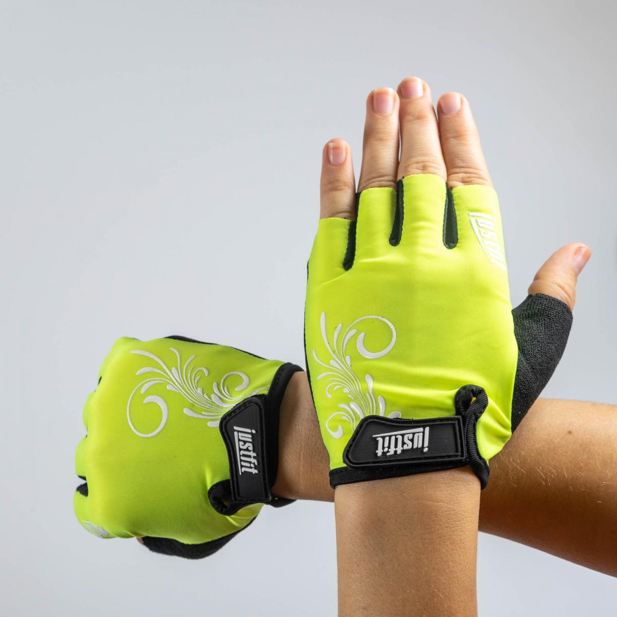 Перчатки для фитнеса лайкра S SF8-902-2
