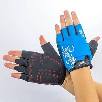 Перчатки для фитнеса лайкра S SF8-93-3 (M)