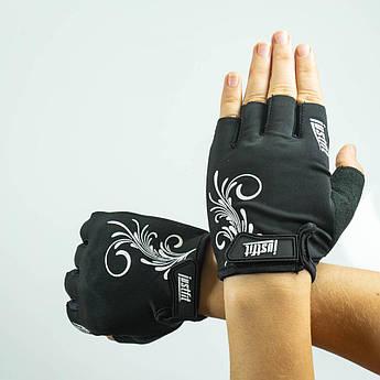 Перчатки для фитнеса лайкра S SF8-94-2