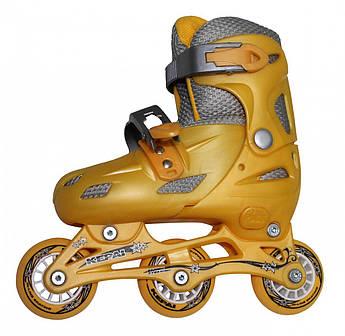 Роликовые коньки KEPAI Желтый SS-CHIN-STAR-9 30-33 жел (Роликовые коньки KEPAI Желтый SS-CHIN-STAR-9 30-33 жел)