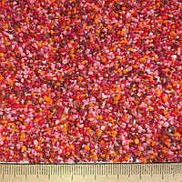 Цветной мраморный песок 1-1,5 мм  микс 5