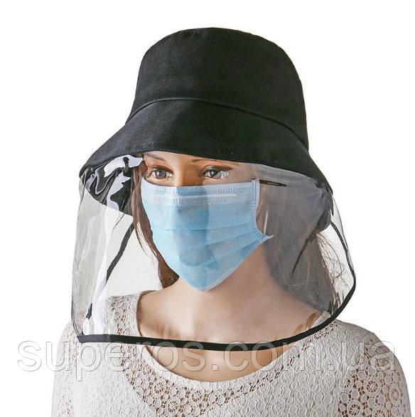 Шляпа с защитным щитком экраном