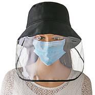 Шляпа с защитным щитком экраном, фото 2
