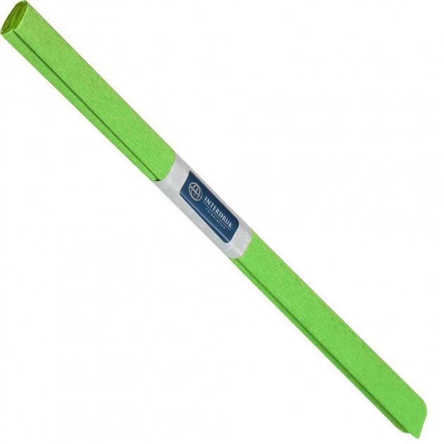 Бумага креповая, рулонная, 200х50 см, цвет светло-зеленый