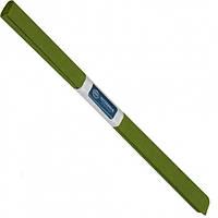 Бумага креповая, рулонная, 200х50 см, цвет оливковый