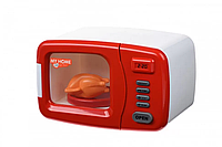 Игрушка для девочки Микроволновая печь 3214Ut (дверца открывается, тарелка вращается, работает от батареек АА)