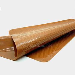 Силиконовый коврик для выпечки, антипригарный / Силіконовий килимок для випічки 37*27 (коричневый)
