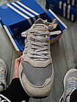 Чоловічі кросівки Adidas Nite Jogger (чорно-помаранчеві) 358PL, фото 3